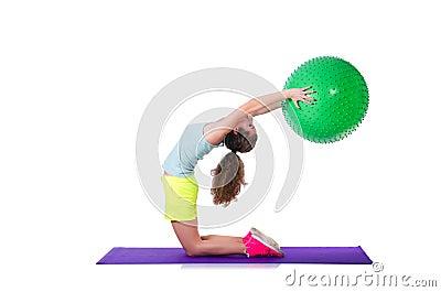 Concept de sport avec la femme