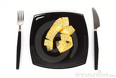 Concept of extreme dieting