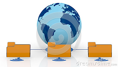 Concept Of Global Network Stock Image - Image: 25251941