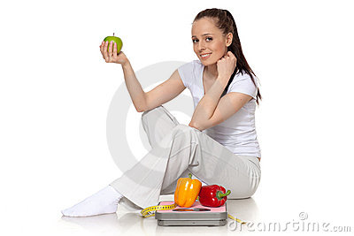Concept of healthy lifestyle.