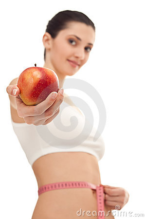 Concept -  healthy slimming