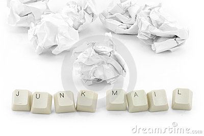 Concept of junk mail