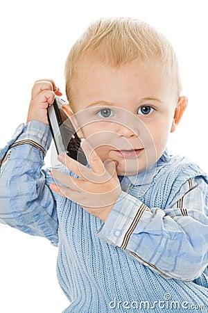 Concept of little businessman
