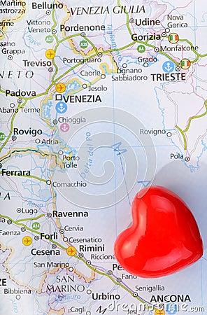 Concept love of Venice