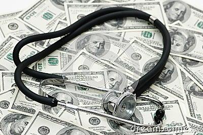 Concept médical - stéthoscope