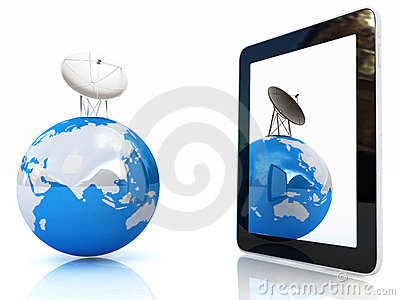 The concept of mobile high-speed Internet
