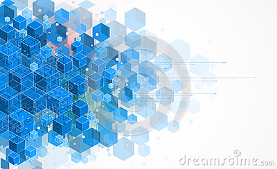 Concept for New Technology Corporate Business & development Stock Photo