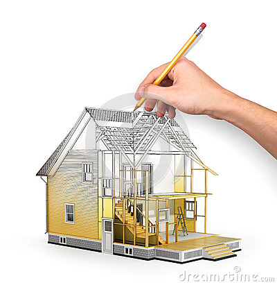 Free Concept Of Construction And Architect Design. Stock Photography - 63592372