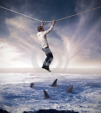 Free Concept Of Risk In Business Stock Photos - 28449343