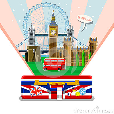 Free Concept Of Travel Or Studying English. Royalty Free Stock Photo - 73235165