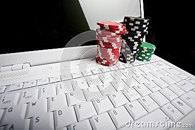 Concept - online poker