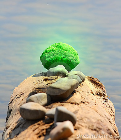 Concept - Outstanding green Stone