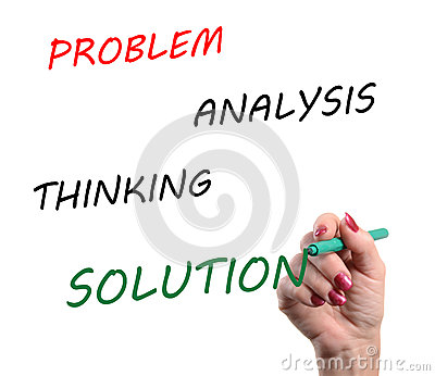 Concept of resolution of problems