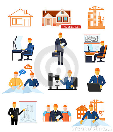 Concept Set For Production And Building Stages Stock Vector Image 51683521