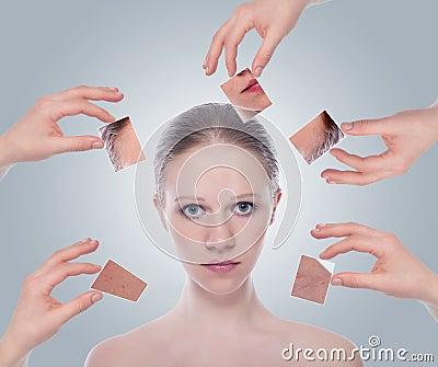 Concept skincare .