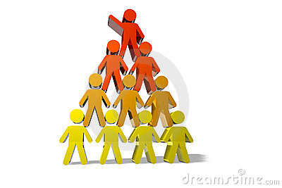 Concept of teamwork and partnership