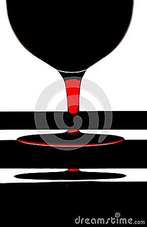 Conception abstraite de fond de vin