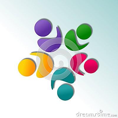 Conception abstraite de logo