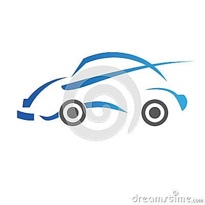Conception de véhicule de logo