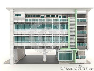 conception ext rieure des bureaux 3d d 39 architecture