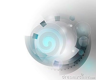 Concepto abstracto de la ingeniería