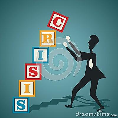 Concepto de la crisis