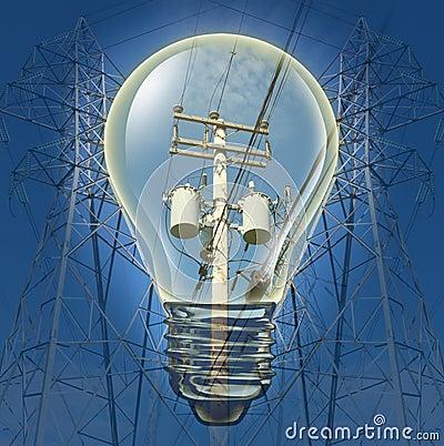 Concepto de la electricidad