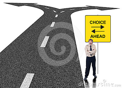 Concepto de la opción del asunto