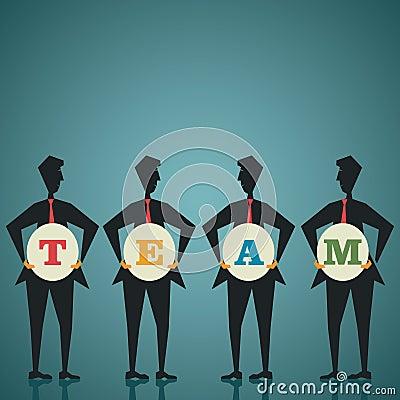 Concepto del equipo