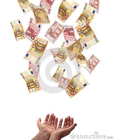 Concepto europeo del dinero en circulación