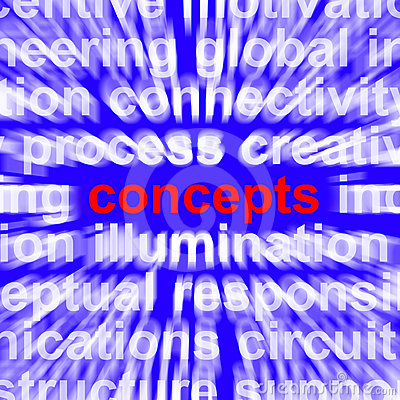 Concepts Word Representing New Ideas