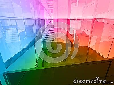 Conceptual architecture, business office
