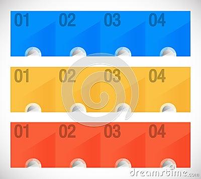 Conceptual  color panels