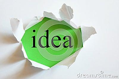 Conceptual idea