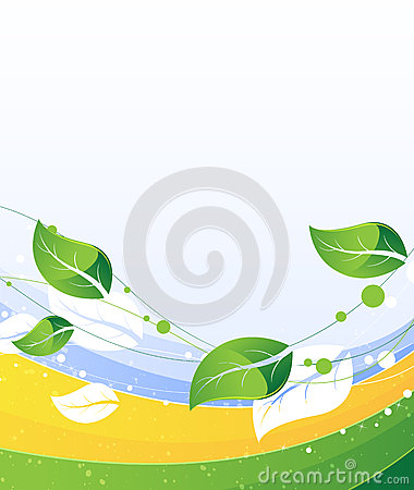 Conceptual nature background