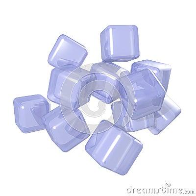 Conceptual Plastic Cube