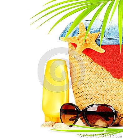 Free Conceptual Summer Fun Border Stock Images - 24316424