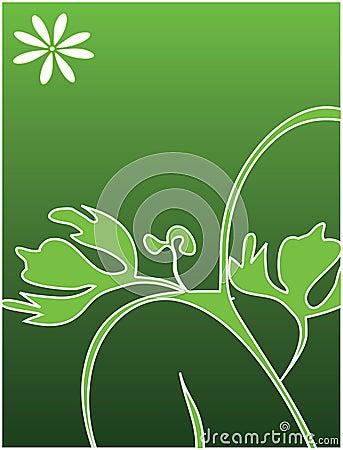 Conceptual symbol. Leaves