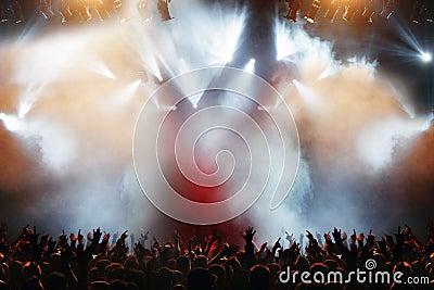 Concert élégant de bruit