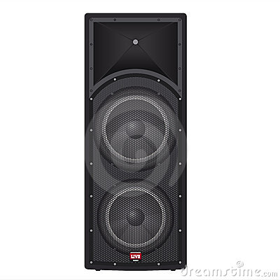 Free Concert Box Speakers Royalty Free Stock Photo - 13826435
