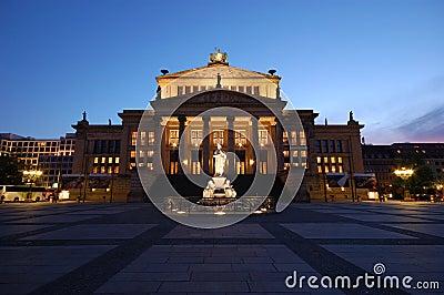 The Concert Hall in Berlin