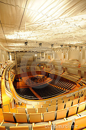 Concert hall of China National Grand Theater Editorial Stock Photo