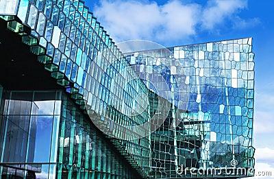 Concert hall in reykjavik