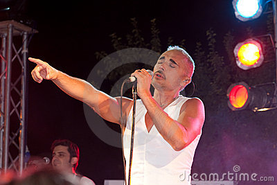 Concert Scialpi Editorial Stock Image