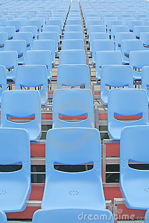 Concert seats that are vacant