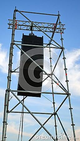 Concert speakers