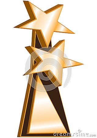 Concessão do vencedor das estrelas dobro