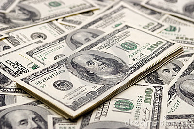 Concetti di prosperità - cento dollari