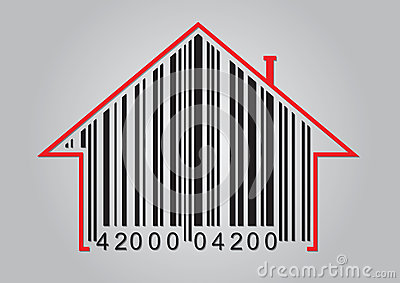 Concetto commerciale con il codice a barre