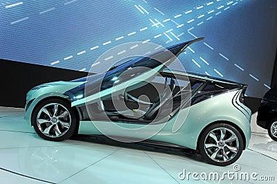 Concetto di Mazda Kiyora Fotografia Stock Editoriale